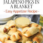 crescent rolls with cream cheese, jalapeno and little smokies with a honey dijon mustard dipping sauce
