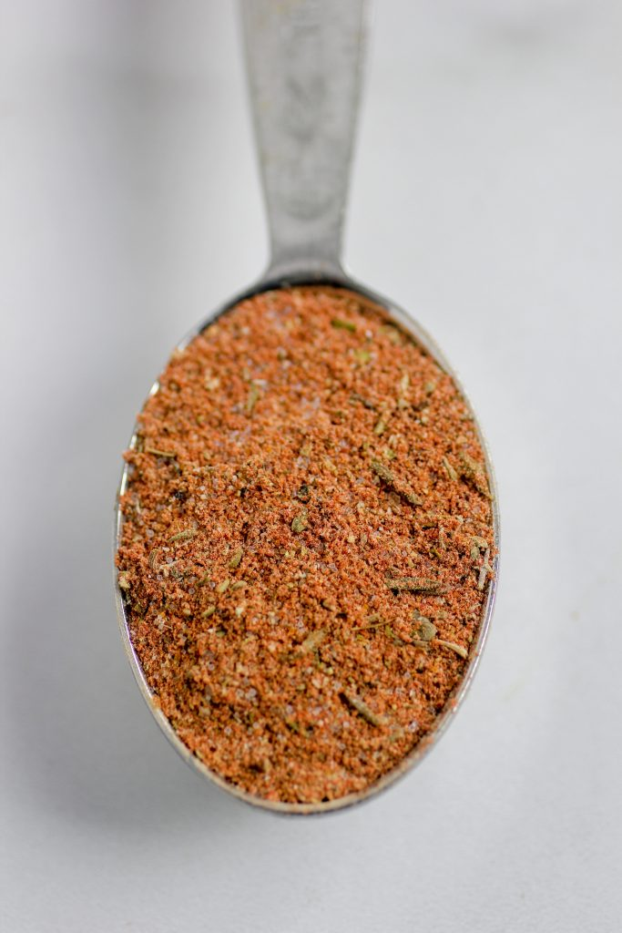 Cajun spice blend in tablespoon
