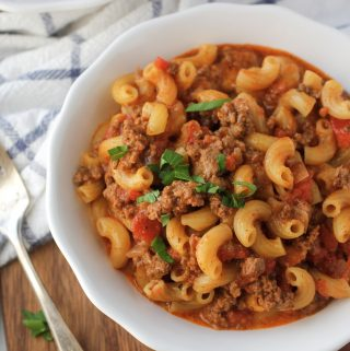 One Pot Traditional Goulash Recipe