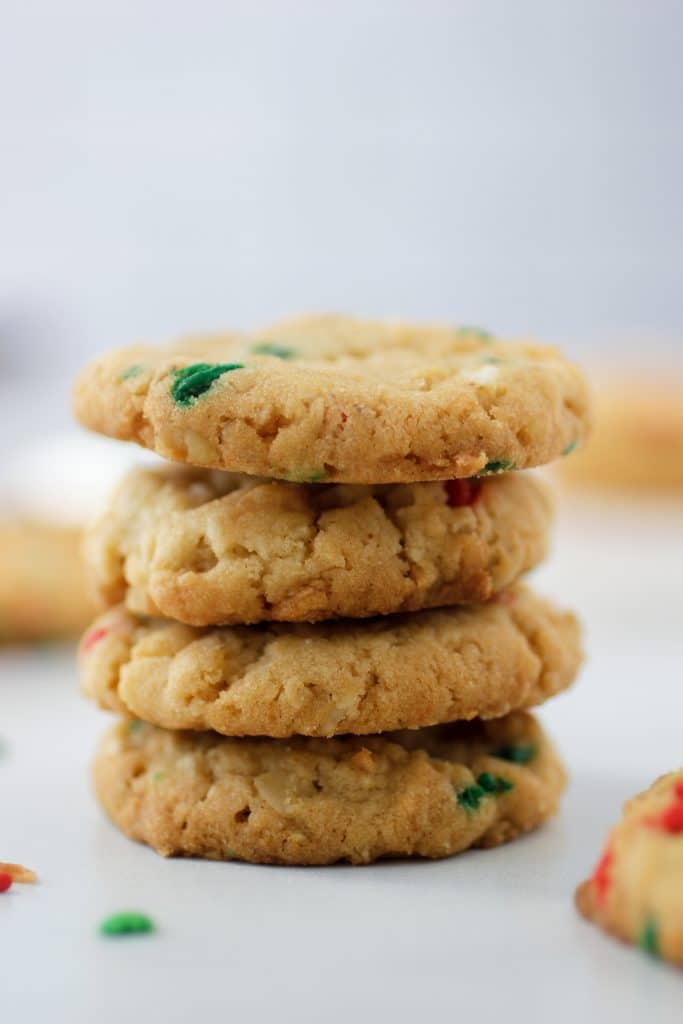 everything cookie stack of four cookies