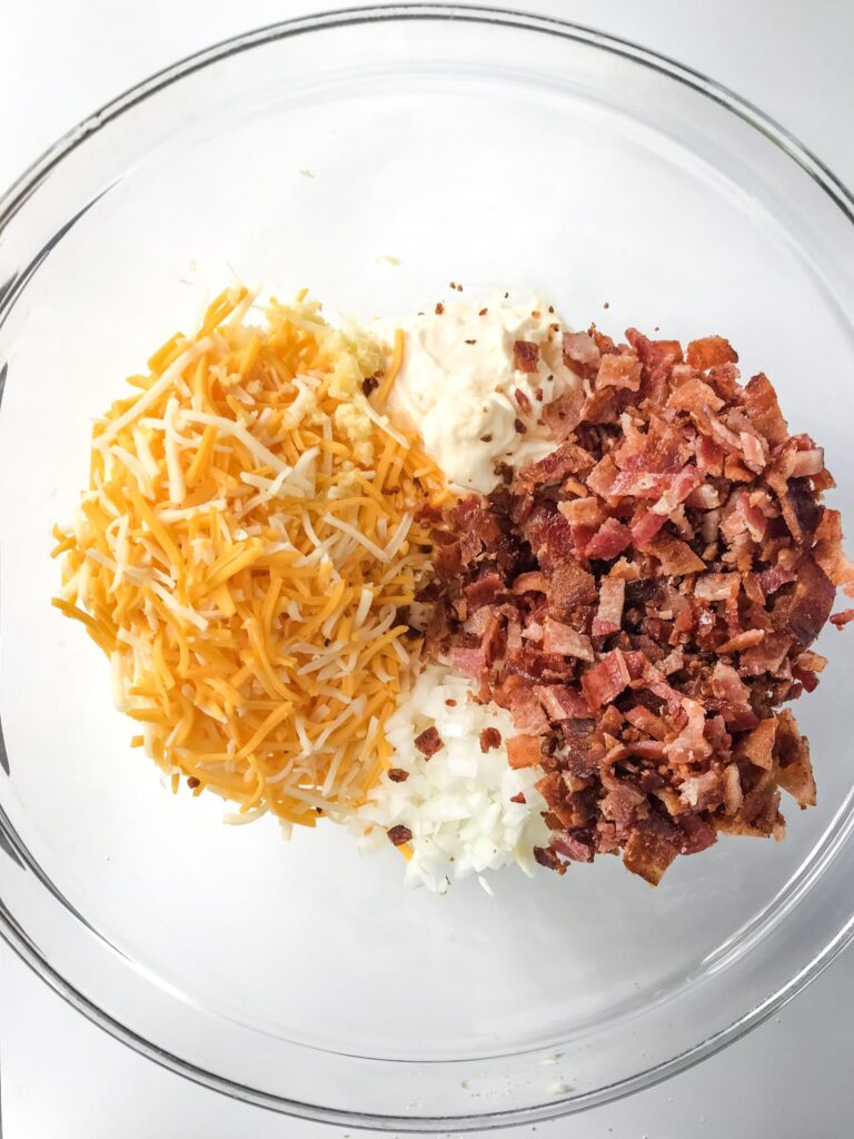 Cheesy Bacon Appetizer Ingredients